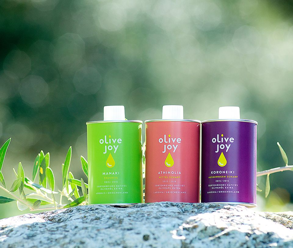 olive joy: Der neue Jahrgang von griechischen Olivenölen ist da