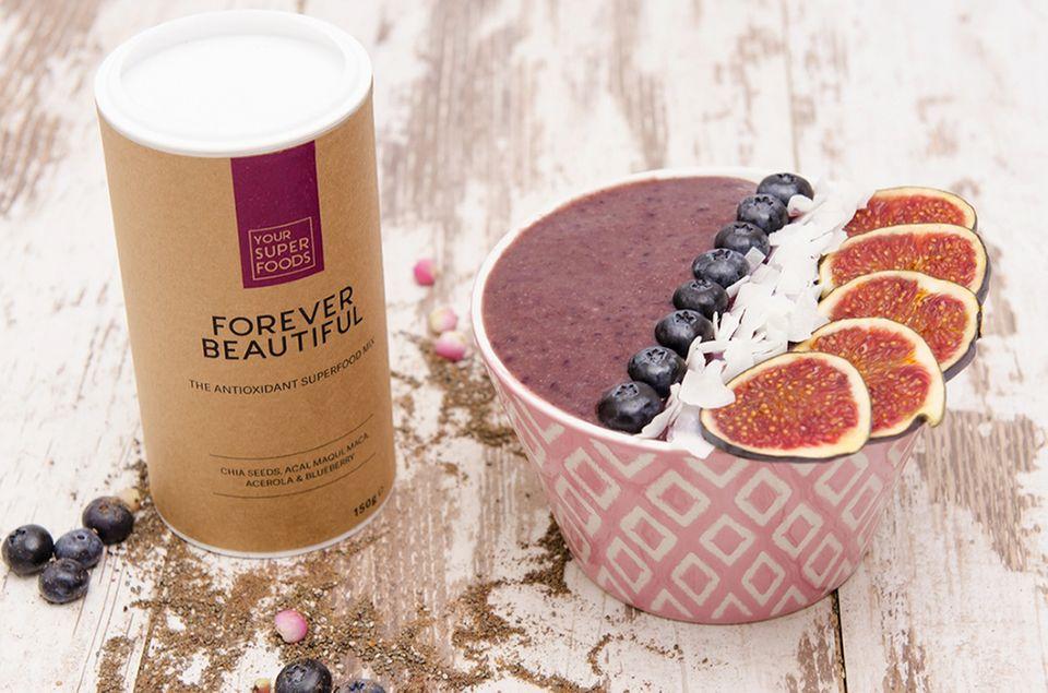 Forever Beautiful Açaí Bowl: Fitmacher Frühstück