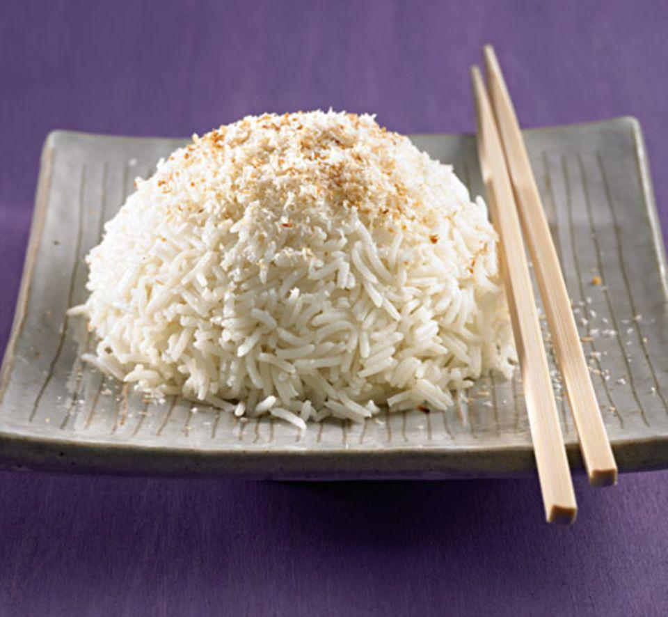 Gekochter Reis