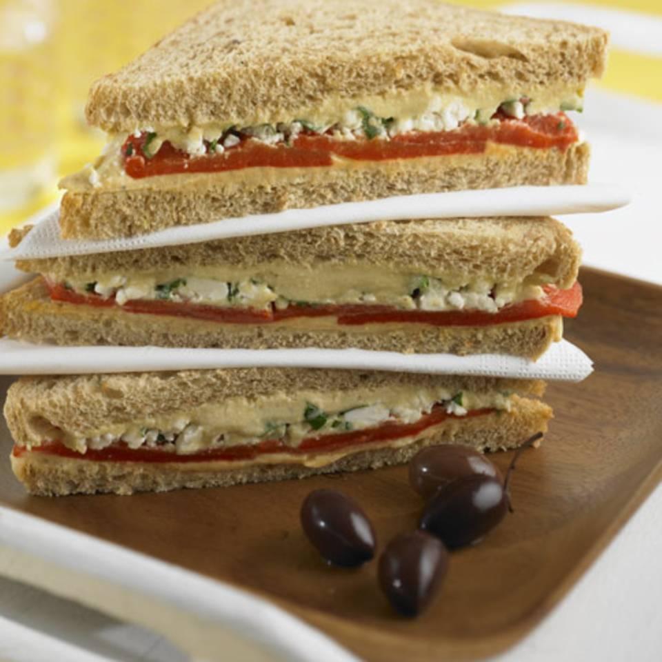 Veggie-Sandwich Rezept