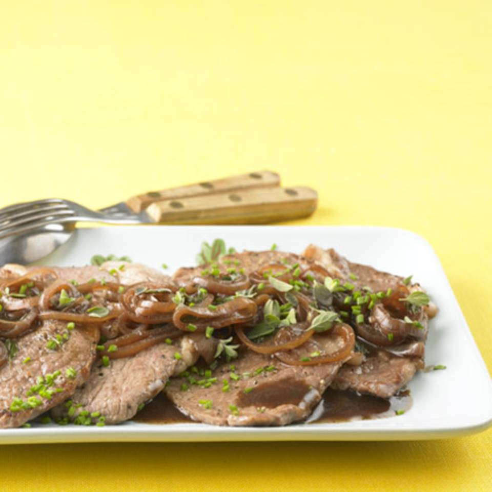 Steaks mit Majoransauce Rezept