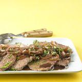 Steaks mit Majoransauce