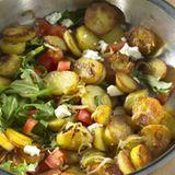 Sommerliche Kartoffelpfanne