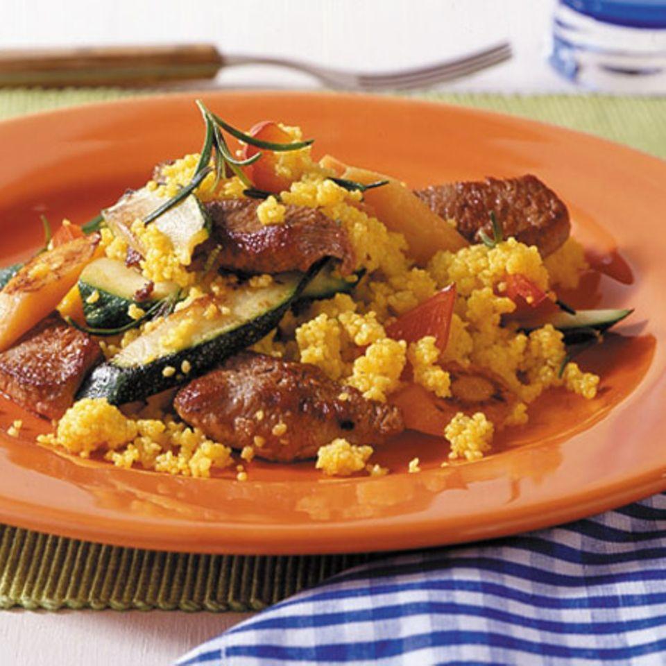 Lamm mit Gemüse-Couscous
