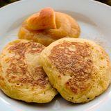 Pfannkuchen mit Zimt und Zucker