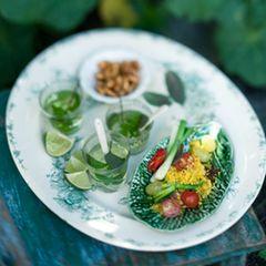 Couscous-Salat mit Minze