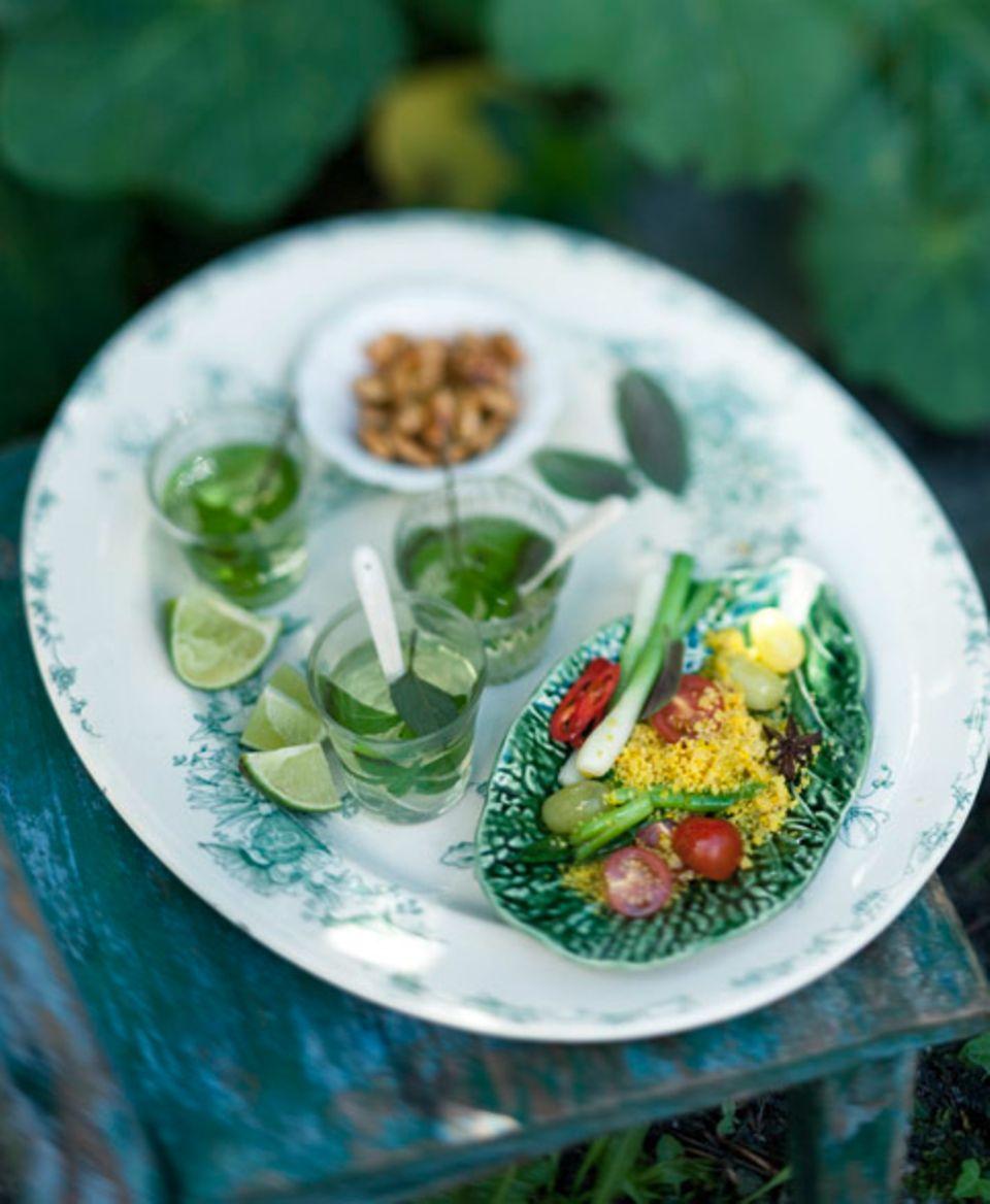Save the date: Kleiner Vorgeschmack: Couscous-Salat mit Minze! Hier geht es zum Rezept