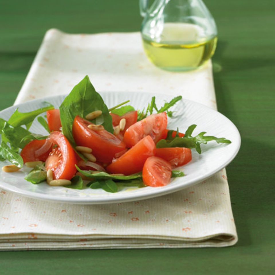 Tomaten - Rauke - Salat