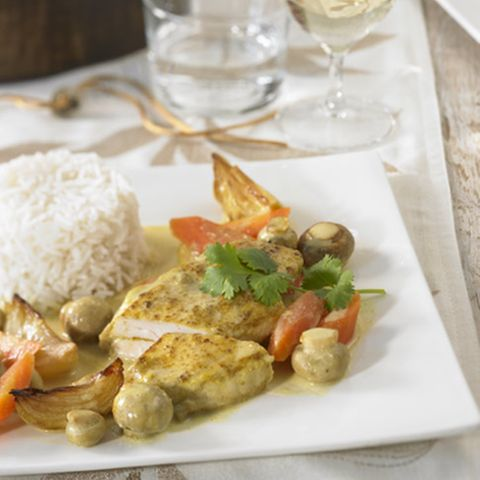Kokos-Curry-Hähnchen