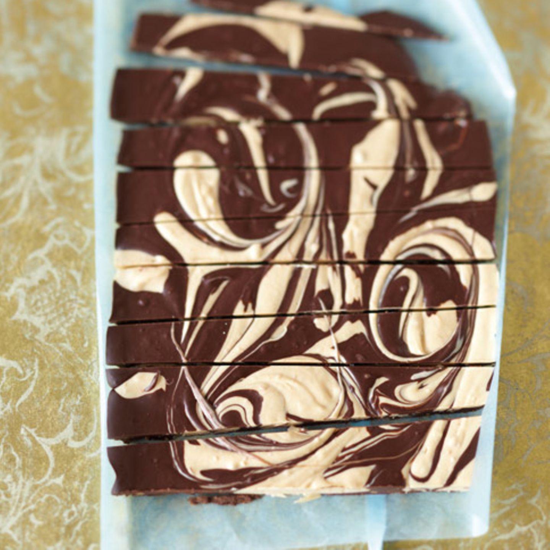 Erdnussbutter-Swirl