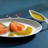 Orangen-Senf-Sauce