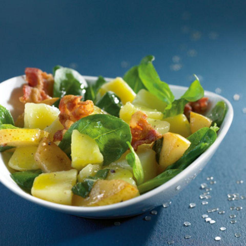 Kartoffelsalat mit Birne
