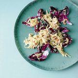 Pastinaken-Apfel-Salat mit Radicchio