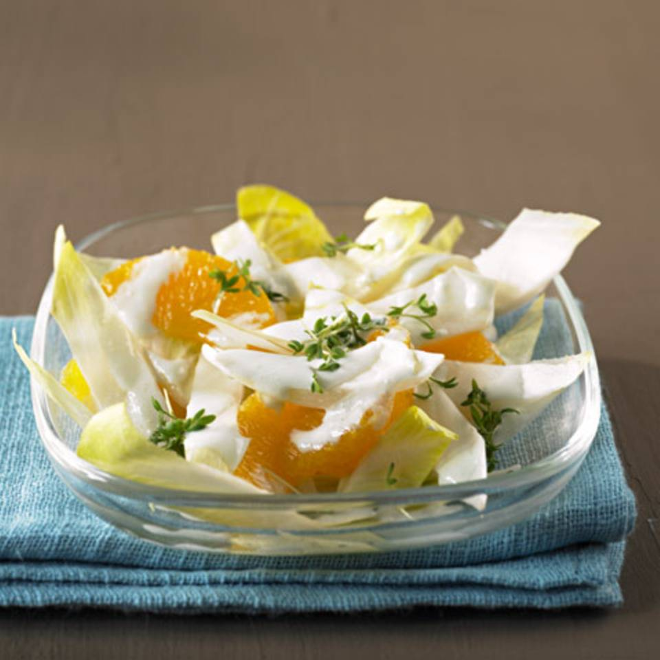 Chicoréesalat mit Orangen Rezept
