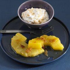 Gebratene Ananas