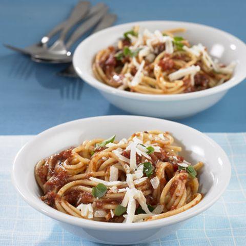 Spaghetti mit Aceto-Sauce