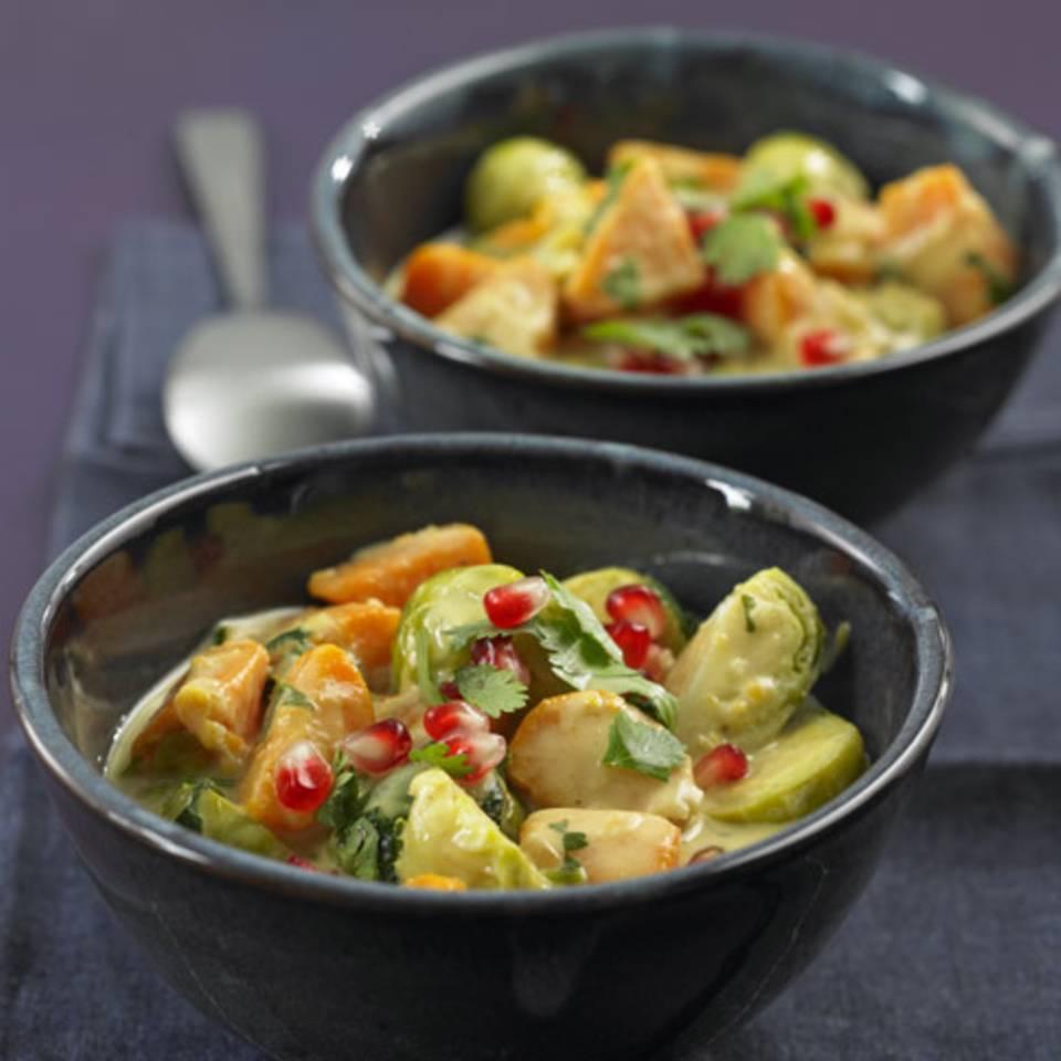 Rosenkohl-Curry Rezept