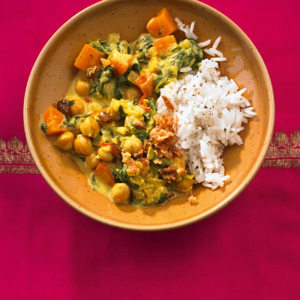 Kichererbsen-Curry Rezept