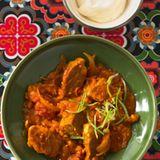 Schweine-Curry
