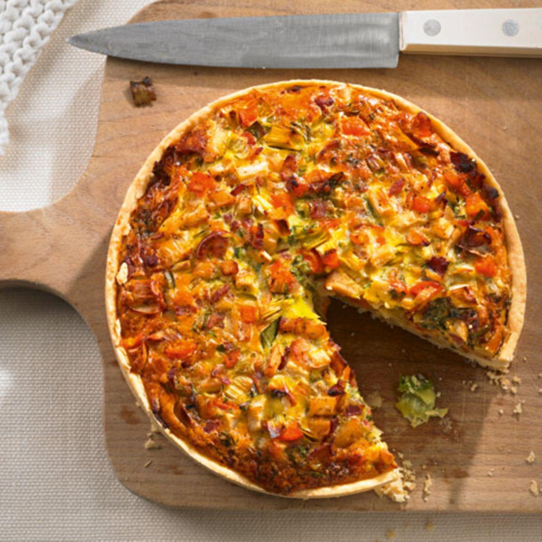 Gemüse-Quiche