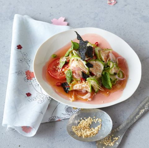 Thai-Auberginensalat