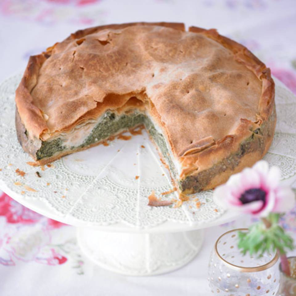 Torta pasqualina (Spinattorte) Rezept