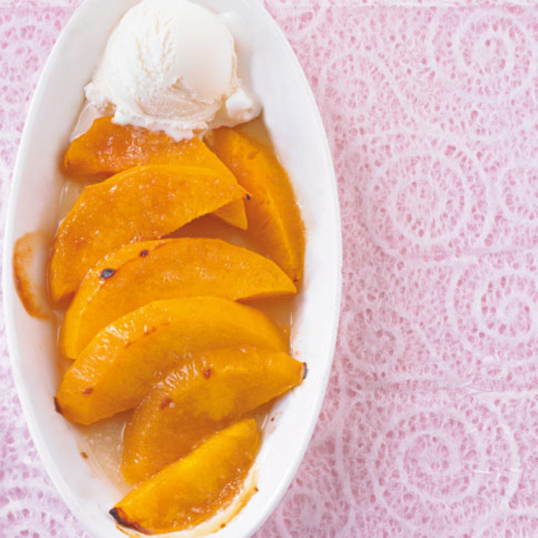 Gratinierte Mango