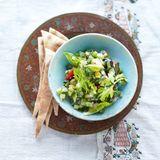 Sellerie-Gurken-Salat