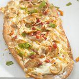 Pilz-Pizza