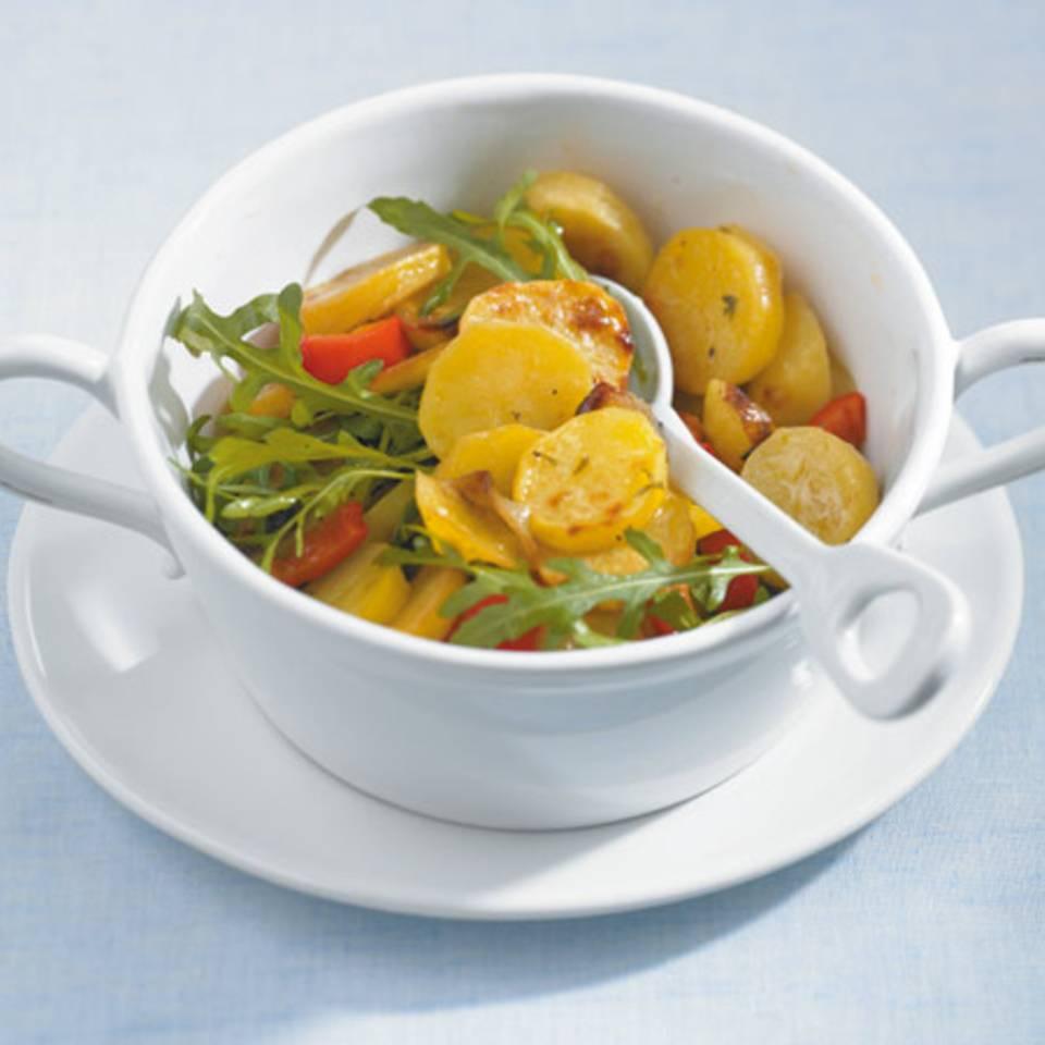 Ofen-Kartoffel-Salat Rezept
