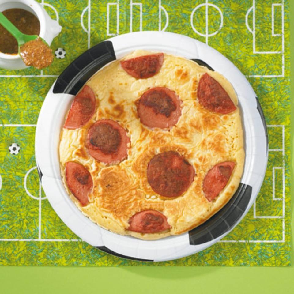 Fußball-Pfannkuchen Rezept