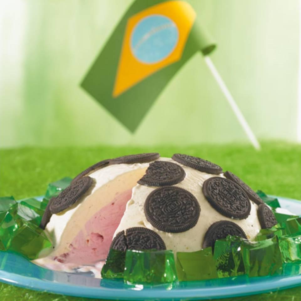 Fußball-Eis Rezept