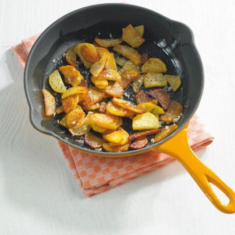 Knoblauch-Bratkartoffeln