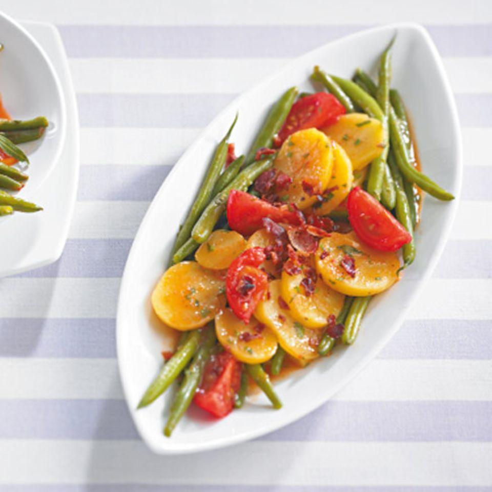 Bohnen-Kartoffel-Salat