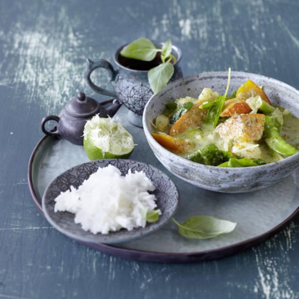 Kürbis-Curry Rezept