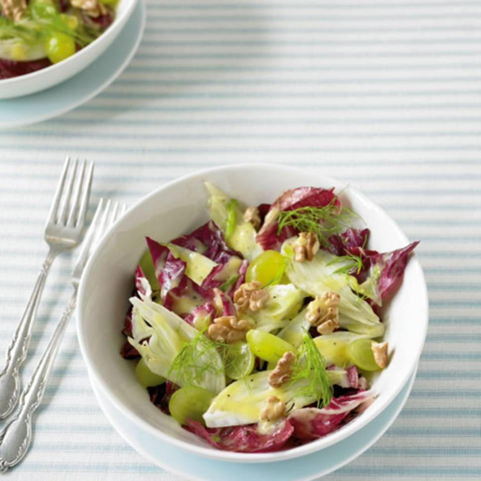Fenchel-Trauben-Salat Rezept