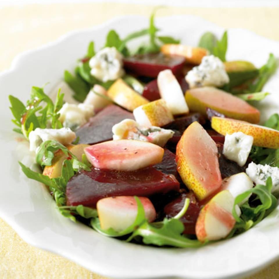 Rote-Bete-Birnen-Salat Rezept