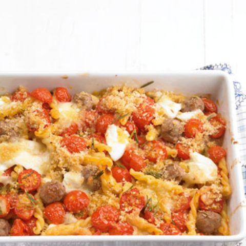 Brösel-Tomaten-Pasta