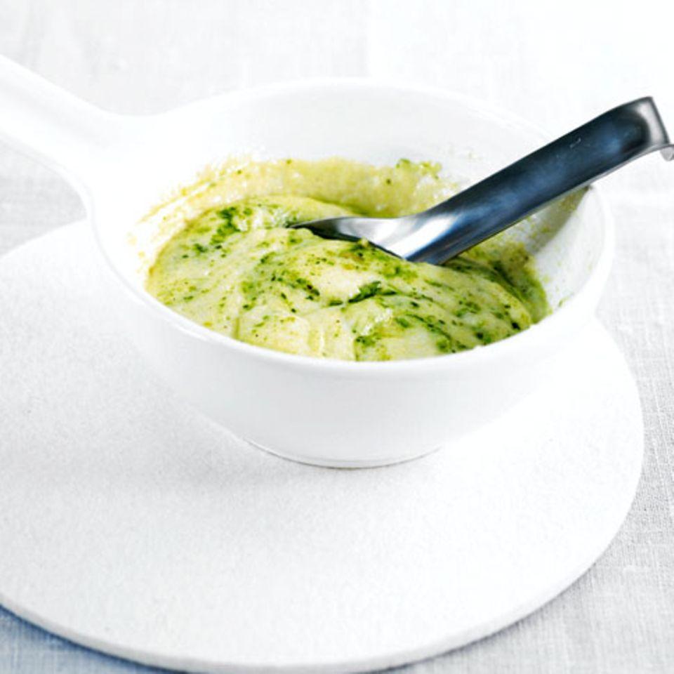 Pesto-Polenta