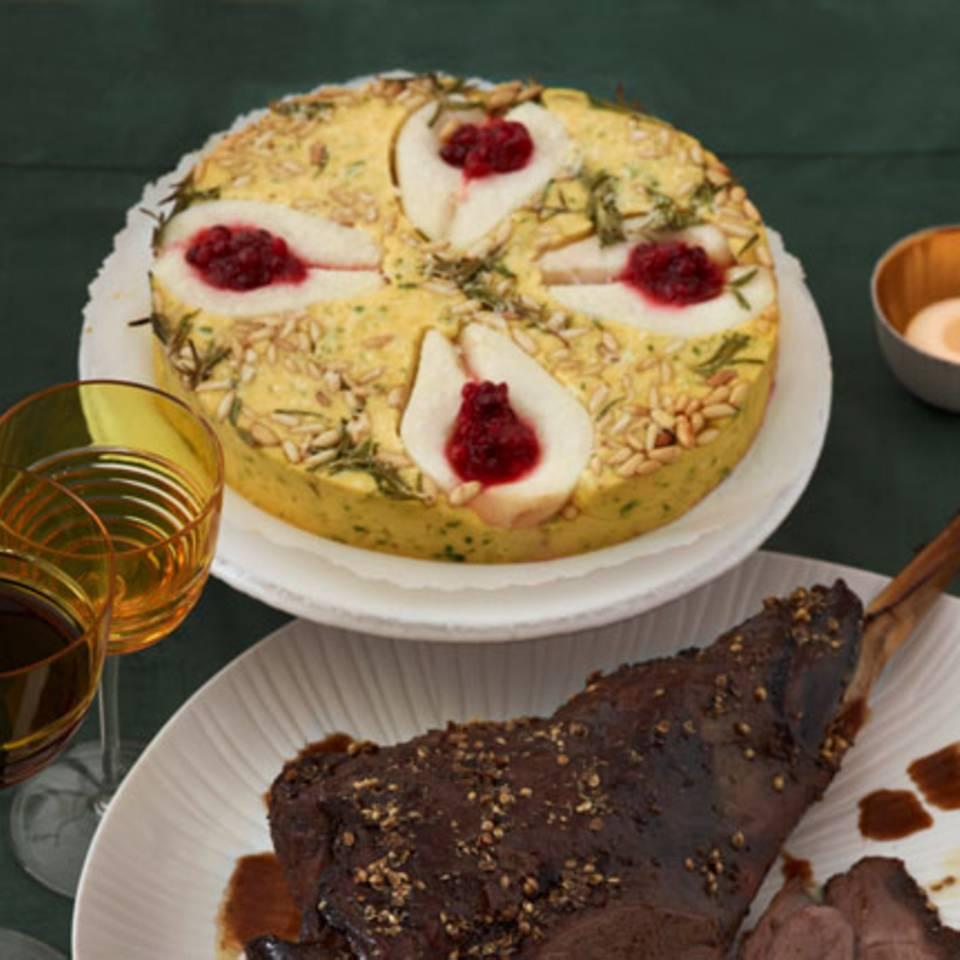 Polenta mit Birnen Rezept