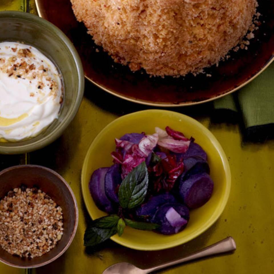 Kartoffelsalat mit Minze Rezept