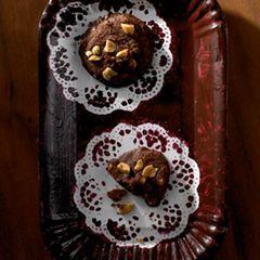 Kakao-Erdnuss-Cookies