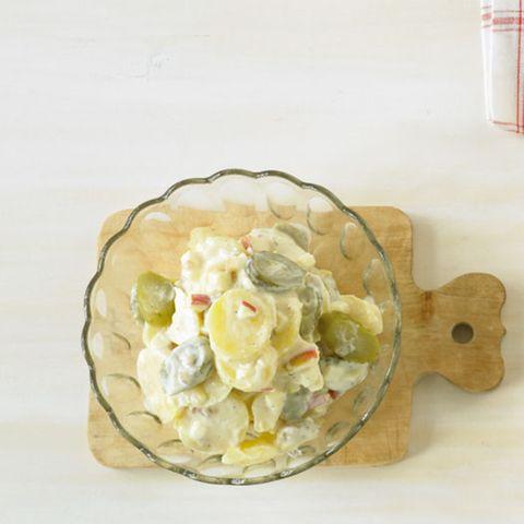 Kartoffelsalat mit Gewürzgurken