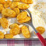 Kartoffelscheiben aus dem Ofen