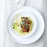 Spaghetti Bolognese mit Gremolata