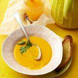 Apfelsinen-Kürbis-Suppe