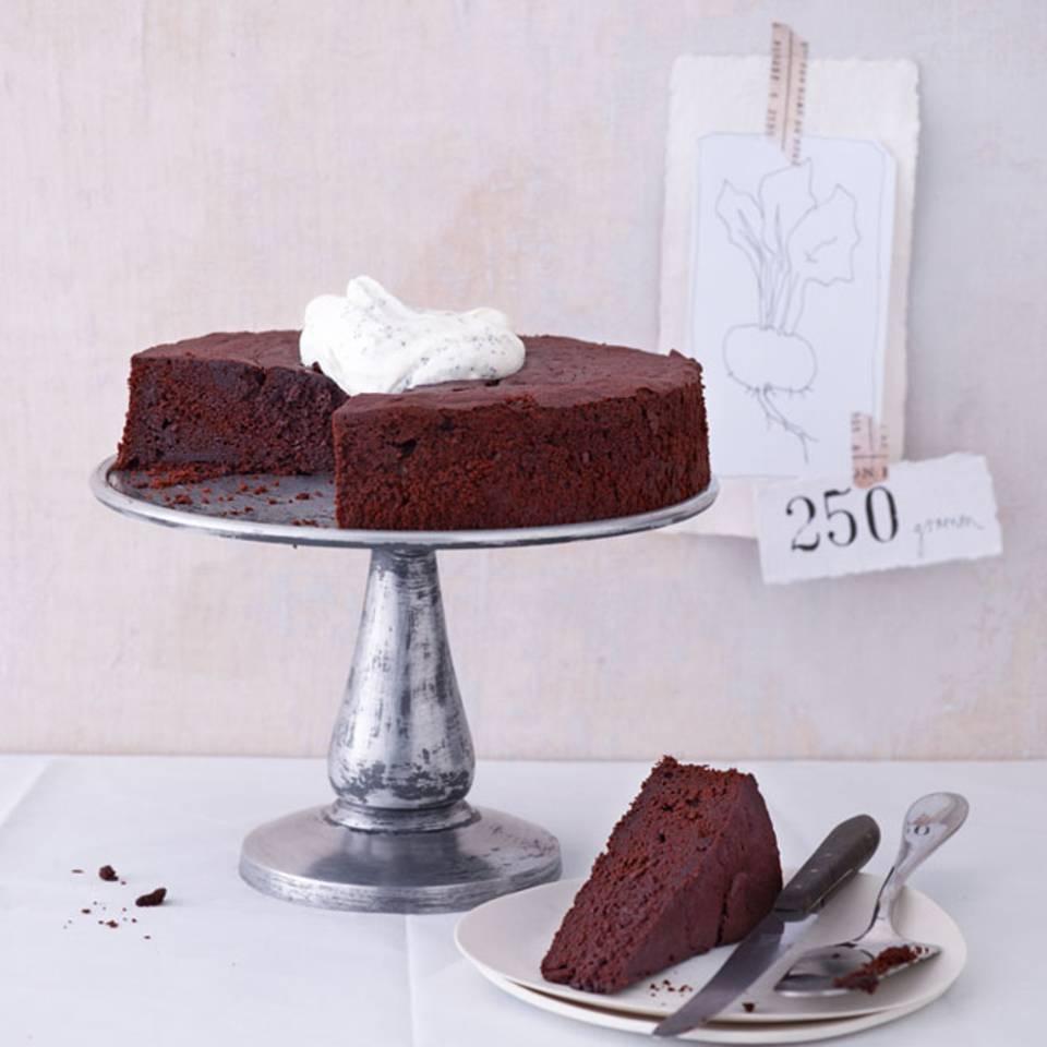 Schoko-Rote-Bete-Kuchen Rezept