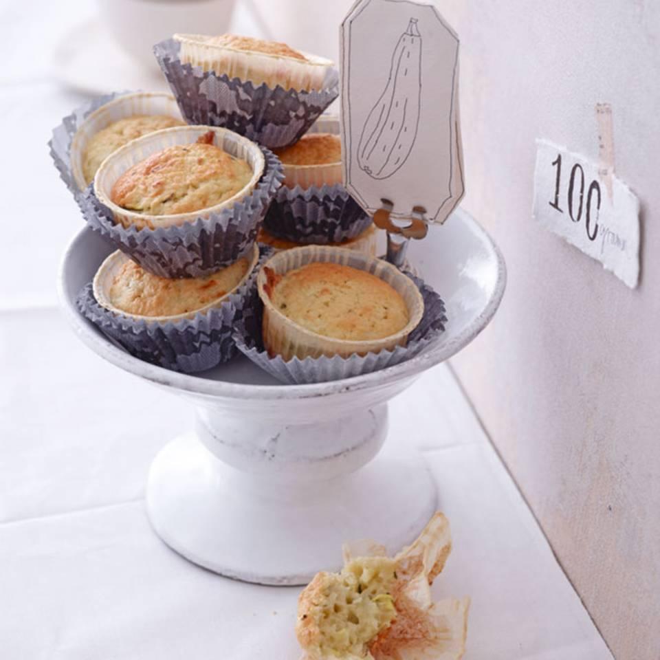 Zucchini-Kokos-Muffins Rezept