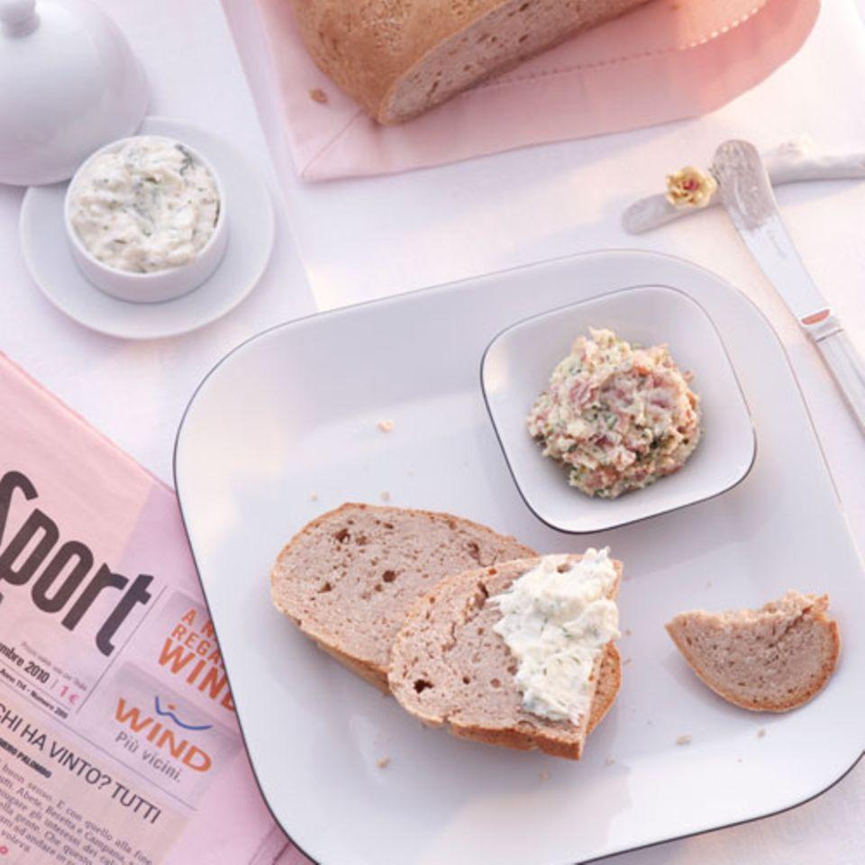 Schnelles Kastanienmehl-Brot