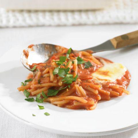Spaghetti-Auflauf